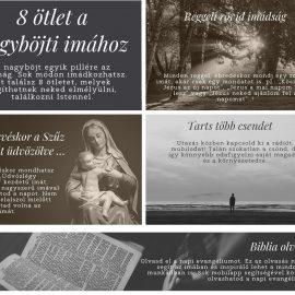 8 ötlet a nagyböjti imához
