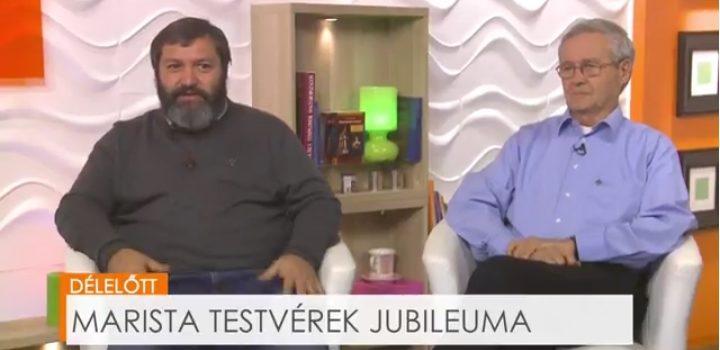Marista testvérek jubileuma a Bonum TV-ben